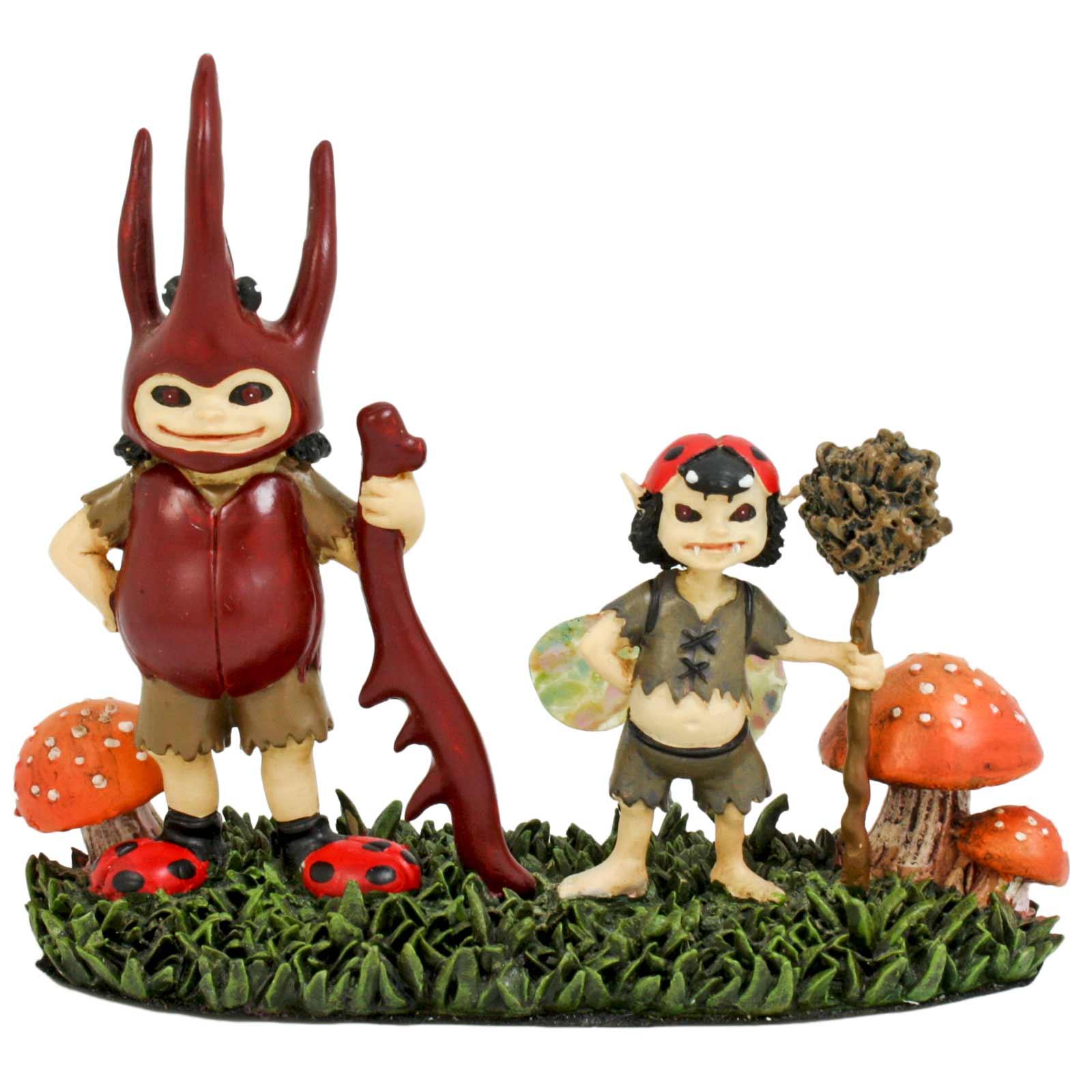 Christmas Decorations Santa Clarita Ca: Brownie Boys Fairytale Mushroom Fantasy Cute Figurine