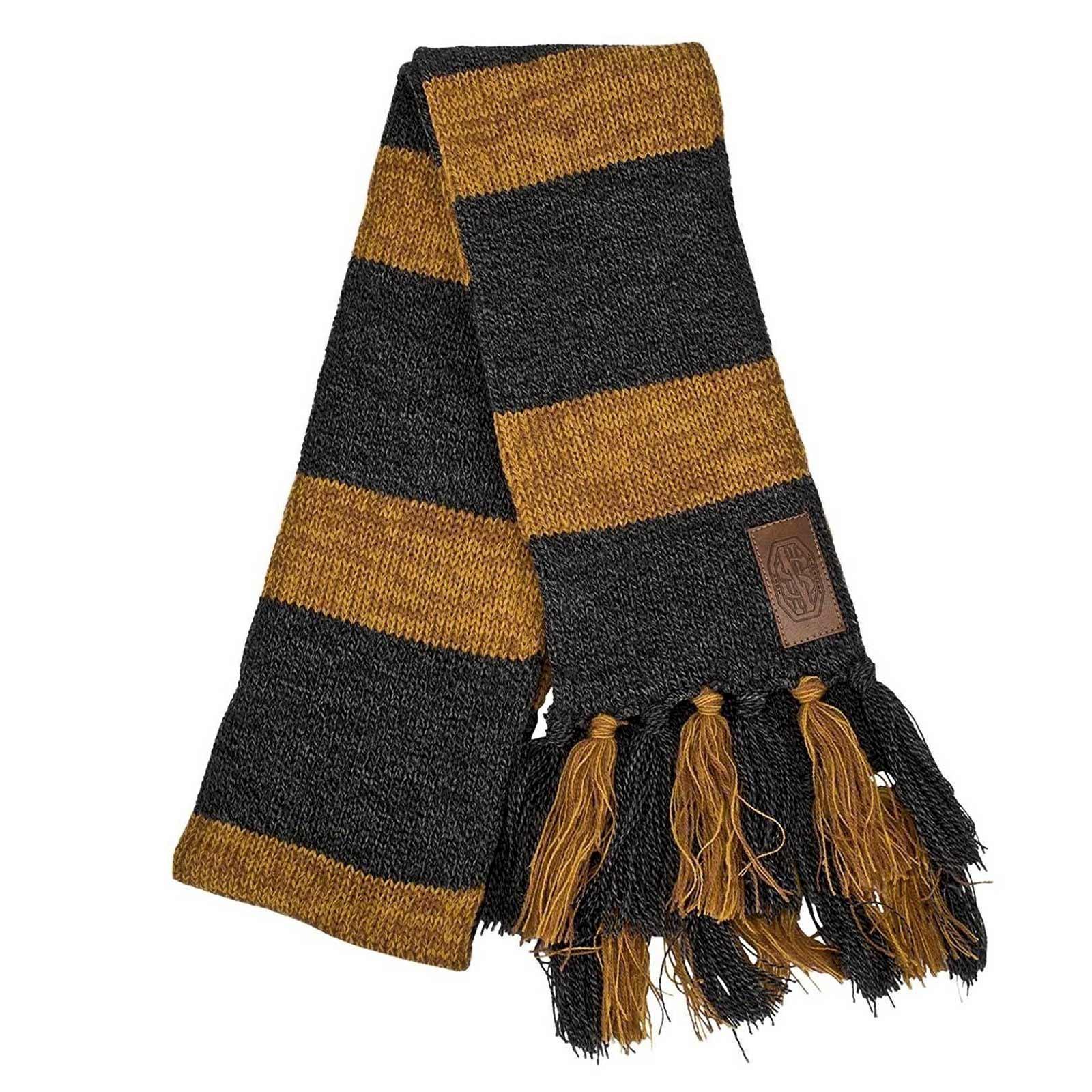 Harry Potter FANTASTIC BEASTS Newt Scamander HUFFLEPUFF Knit Scarf ...